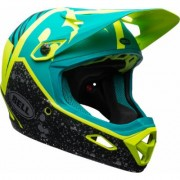 Bell Transfer-9 Downhill Helmet, green-yellow, Size XL