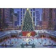 Puzzle Ravensburger - Craciun NYC, 1.000 piese (19563)