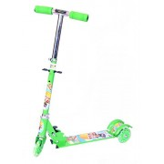 Kids Three Wheel Scooter Foldable with Adjustable Height and LED Light on Wheels