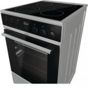 Готварска печка Gorenje IconLed EC5355XPA, клас А, 70 л. обем на фурната, 4 HiLight нагревателни зони, Готвене на повече нива едновременно, сив