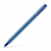 Pix Unica Folosinta Albastru Grip 2020 Faber-Castell albastru Plastic Pix fara mecanism Medie transparent