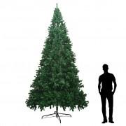 vidaXL Brad de Crăciun artificial XXL 400 cm, Verde