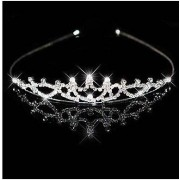 Bridal Crown Headband Tiara Rhinestone Wedding Headpiece