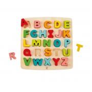 Hape Puzzle Alfabeto Mayúsculas