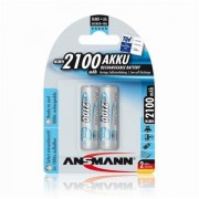 Batteria Ricaricabile NiMH formato Stilo (AA) Ansmann maxE - 2 pezzi