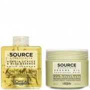 L'Oréal Professionnel Source Essentielle duo shampoo per uso quotidiano e balsamo per capelli secchi