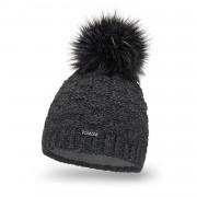 Zimowa czapka damska PaMaMi - Ciemnoszary