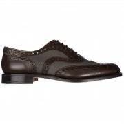 Church's Scarpe stringate classiche uomo in pelle burwood brogue