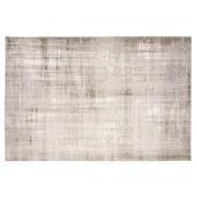 Miliboo Tapis gris clair acrylique et coton 155x230 USED