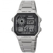 Casio Youth Black Dial Mens Watch - Ae-1200Whd-1Avdf (D099)