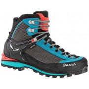 Salewa Ws Crow GTX - scarponi alta quota alpinismo - donna - Black/Blue