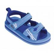 Beco Blauwe watersandalen/waterschoenen voor baby/peuter