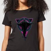Harry Potter Neon Dementors dames t-shirt - Zwart - 3XL - Zwart