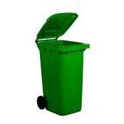 Socepi Bidone raccolta differenziata rifiuti in PEHD da 240 litri colore verde
