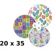 Florio confezione 100 buste formato 20x35