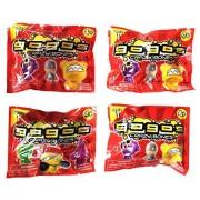 Gogos Crazy Bones Toy Surprise Pack - Series 1 (Set of 4 Packs)
