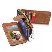 Samsung Galaxy S7 Edge Leren portemonnee hoesje met uitneembare telefoon case