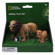 National Geographic Set 2 figurine - Leul si puiul NTS01006
