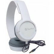 Signature High Quality VM-61 Pro High Definition Headphones For And All Smartphones (White)