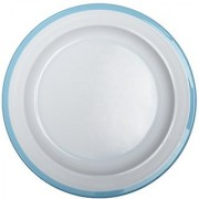 Oxo Tot Big Kids Plate With Non-Slip Base- Aqua