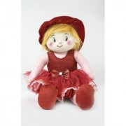 Baby Doll Girl Gracy Red Color by Lovely Toys