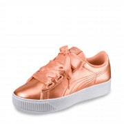 Puma Vikky Platform Ribbon Sneaker - Damen - gold, jetzt im Angebot