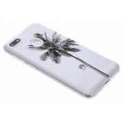 Palmtree design TPU hoesje voor de Huawei Y6 Pro (2017) / P9 Lite Mini