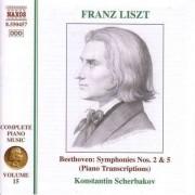 F Liszt - Complete Piano Music V.15 (0730099545723) (1 CD)