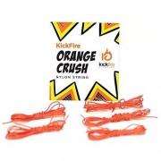 Kick Fire Diabolos Orange Crush Diabolo String (Nylon) | Chinese Yo Yo Replacement String | Set Of 5 Strings | 6 Feet Each | High Speed, Performance String For All Types Of Diabolos