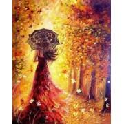 Gaira Malování podle čísel Podzimní les M1012
