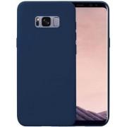 Protectie spate Senno Pure Flex Slim Mate TPU pentru Samsung Galaxy S8 Plus (Albastru inchis)