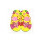 Papuci de baie / plaja copii Bella Butterfly, mas 22-23