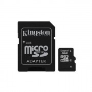 Kingston memoria 8GB microSDHC Class 4 Flash Card