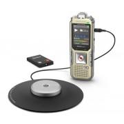 Reportofon digital PHILIPS DVT8010, 8GB, USB, LCD color (Auriu)