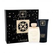 Lalique Pour Homme sada parfémovaná voda 125 ml + sprchový gel 150 ml pro muže