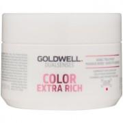 Goldwell Dualsenses Color Extra Rich mascarilla regeneradora para cabello áspero y teñido 200 ml