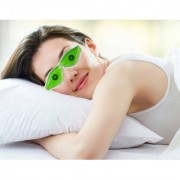 SPERO Aloe Vera Cold Eye Mask Ice Compress Green Gel Eye Fatigue Relief Cooling Eye Care Relaxation Eye Shield 2 Pcs