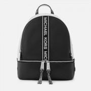 MICHAEL MICHAEL KORS Women's Rhea Zip Backpack - Black/White