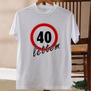 Szülinapi évszámos póló