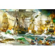 Puzzle Ravensburger - Battle on the High Seas, 5.000 piese (13969)