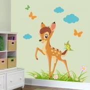 Stickere perete copii Bambi - 88 x 80 cm