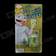 Insecto en Ice Cube Prank - Transparente + Verde