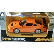Innovador 1:38 Porsche 911 GT3 RSR(Orange) pulll back car