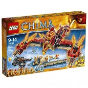 Lego Flying Phoenix Fire Temple, Multi Color