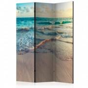 Paravan - Beach in Punta Cana [Room Dividers] (Dimensiune paravan ( cm): 135 x 172 cm)