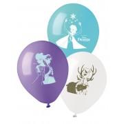10 Balões de látex Frozen 28 cm