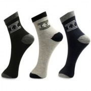 Manan fashion pack of 3 ankle socks (multi color)