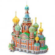 """CubicFun 3D Puzzle """"The Church of the Savior on Spilled Blood"""" MC148h"""