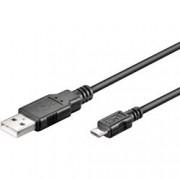 Manhattan Cavo USB 2.0 A maschio/Micro B maschio 5m Nero