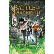 Percy Jackson and the Olympians the Battle of the Labyrinth: The Graphic Novel, Hardcover/Rick Riordan